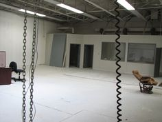 Another before shot of our new space at the Madison Annex.