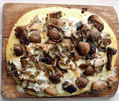 Mushroom & Herb Polenta Recipe  From cookbook -Plenty                                                                                                                                                                                 Mehr