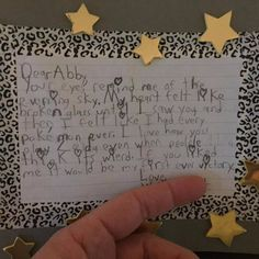 Fifth Grader's Love Letter on Reddit