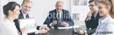 "Download the royalty-free photo ""As you can see our hard work pays off"" created by Photographee.eu at the lowest price on Fotolia.com. Browse our cheap image bank online to find the perfect stock photo for your marketing projects!"