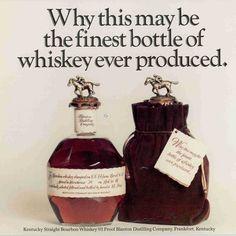 Blanton's Bourbon bottle design registered as trademark on this day in 1986.  #BlantonsBourbon #bourbon #onthisday #history #marketing #branding #brand #trademark