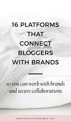 These influencer marketing platforms connect high profile brands with influencers around the world. Signing up is free for influencers and puts them in contract with brands instantly! Click to learn how you can be an influencer and work with brands! | Instagram Tips | Influencer | Blogger | Blogging Tips #bloggingtips #blogger #instagrammer