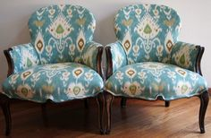 Pillow Love by le-ka-lia interiors: How to re-upholster a chair