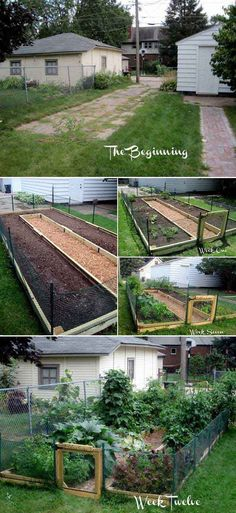 5. U-shaped raised garden makes efficient use of limited space. - 22 Ways for Growing a Successful Vegetable Garden