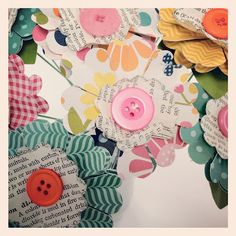 Paper Blossoms created by Pebbles In My Pocket with Sunny Side Collection
