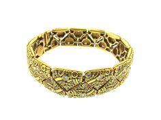 Alex Sepkus Gold and Diamond Bracelet