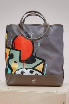 MOYNAT Mambo Printed Tote Bag. #moynat #bags #hand bags #canvas #tote #cotton #