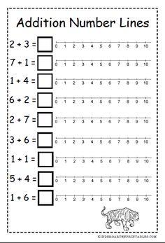 Number Line addition worksheets free printables number line addition worksheets . Number Line addition worksheets free printables number line addition Numbers Kindergarten, Kindergarten Math Worksheets, Math Numbers, Teaching Math, Teaching Geography, Kindergarten Age, Free Printable Worksheets, Free Printables, Number Worksheets