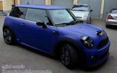 Mini Cooper - obsessed with this color