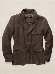 b6676376d52f7 RRL Blazer coton et laine McGraw - RRL Voir tous les vêtements - Ralph  Lauren France · Vêtements HommeManteauMode ...
