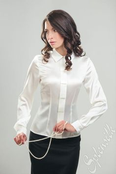 2888f5e85b808 22 Best Satin blouses images in 2019