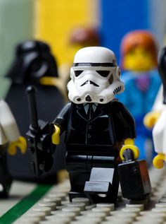 Stormtrooping is serious business..