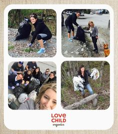 The Love Child Organics team has honoured Earth Day by heading out around our local area and cleaning up the litter that has collected over the winter. Happy Earth, Earth Day, Polaroid Film, Cleaning, Love, Children, Winter, Collection, Amor