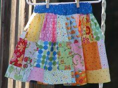 Charm Pack Twirl Skirt Tutorial - featured in http://issuu.com/mespetitesmainsmagazine/docs/mpmm_4_spring_2011?mode=embed