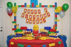 Legos Birthday Party Ideas | Photo 7 of 25 | Catch My Party