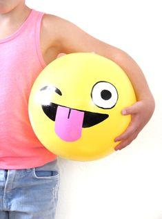 more emoji fun by creating cool beach balls