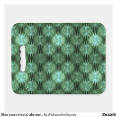 seat cushion created by AleksandraStepien. Stadium Seat Cushions, Stadium Seats, Logo For School, Optical Illusions, Fractals, Fundraising, Blue Green, Zip Around Wallet, Mosaic