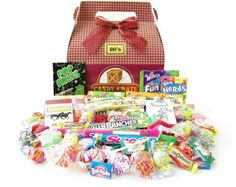 dad0c75ee57  29.90- 32.95 Baby Our Retro Candy Gift Box is full of favorite nostalgic  candy from