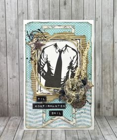 papirdesign-blogg Masculine Cards, Young People, Barn, Frame, Confirmation, Inspiration, Design, Home Decor, Cards