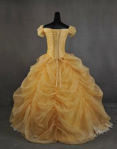 Deluxe Beauty and the Beast Belle Adult by AddictedToMagic