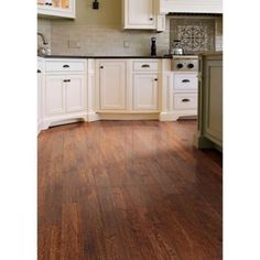 Pergo presto virginia walnut 8 mm thick x 7 5 8 in wide x for Casa moderna hampton hickory