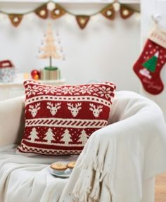 Scandi Christmas Cushion