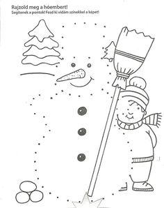 Preschool Learning Activities, Preschool Worksheets, Preschool Activities, Christmas Worksheets, Christmas Activities, Christmas Crafts, Thema Winter Im Kindergarten, Winter Crafts For Kids, Christmas Coloring Pages
