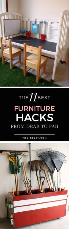 DIY furniture hacks and ideas