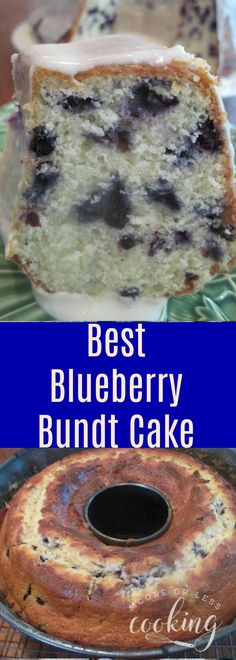 Best Blueberry Cake & Video Incredibly Moist and delicious bundt cake with an over the top amazing glaze!! #bundtcake #cake #easy #blueberry #glaze #desserts