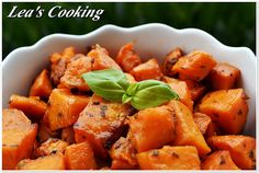 Roasted Yam Cubes | Recipe | Roasted Yams, Cubes and Php