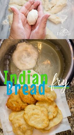 Yummy Indian Fry Bread, served as a sweet dessert or even better with Navajo Tacos. Making this delicious fried bread recipe is quick and easy either in the Instant Pot or on the Stove. Fry Bread Indian, Indian Fry Bread Recipe Easy, Native American Fry Bread Recipe, Fried Bread Recipe, Easy Bread Recipes, Milk Recipes, Banana Bread Recipes, Snack Recipes, Cooking Recipes