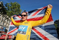 Sir Bradley Wiggins, CBE. Won five Olympic Gold medals, including the time trial Gold medal in london 2012. In total, he has won 12 Gold medals in track and road racing. Won. Tour de France in 2012.