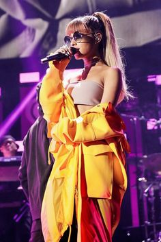 Welcome to GuiltyGrande, your Ultimate source dedicated to the actress and singer Ariana Grande. Ariana Grande Fotos, Ariana Grande Outfits, Ariana Grande Pictures, Ariana Grande 2016, Ariana Tour, Scream Queens, Bae, Dangerous Woman Tour, Ariana Grande Wallpaper