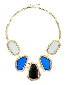 Blitzen Five-Station Necklace by Kendra Scott at Last Call by Neiman Marcus.
