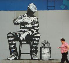 prison street art - Google Search