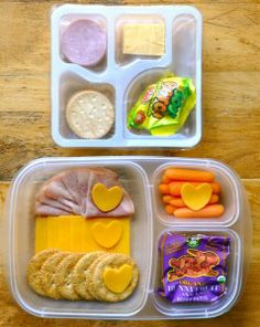Lunchbox Wars: The Cracker Lunches - MOMables® - Healthy School Lunch Ideas