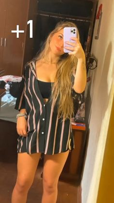 Warm Outfits, Cute Casual Outfits, Simple Outfits, Girls Fashion Clothes, Girl Fashion, Fashion Outfits, Womens Fashion, Photographie Indie, Hawaii Outfits