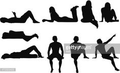 View top-quality illustrations of Silhouette Of People Sitting In Different Poses. Find premium, high-resolution illustrative art at Getty Images.