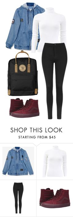 """wishcasu"" by joannachavez8 on Polyvore featuring Michael Kors, Topshop, Vans and Fjällräven"