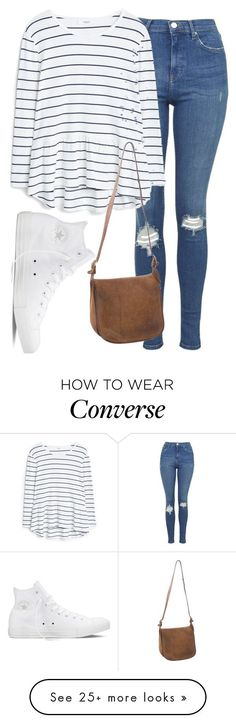 """Untitled #1225"" by abbeycadabbey on Polyvore featuring Topshop, Converse, MANGO and Coach"