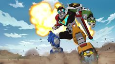 Now we are going old-school up in here with the announcement that Netflix is debuting an original series entitled VOLTRON: LEGENDARY DEFENDER. If you are a