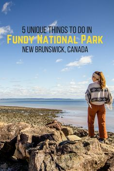 Cool campsites, star gazing and walking on the ocean floor. Here's why you need to visit Fundy National Park in New Brunswick, Canada. Backpacking Canada, Canada Travel, Backpacking Tips, East Coast Travel, East Coast Road Trip, Visit Canada, O Canada, East Coast Canada, Vacation