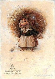 ArtStation - Coockie the Brownie , Jean-Baptiste Monge
