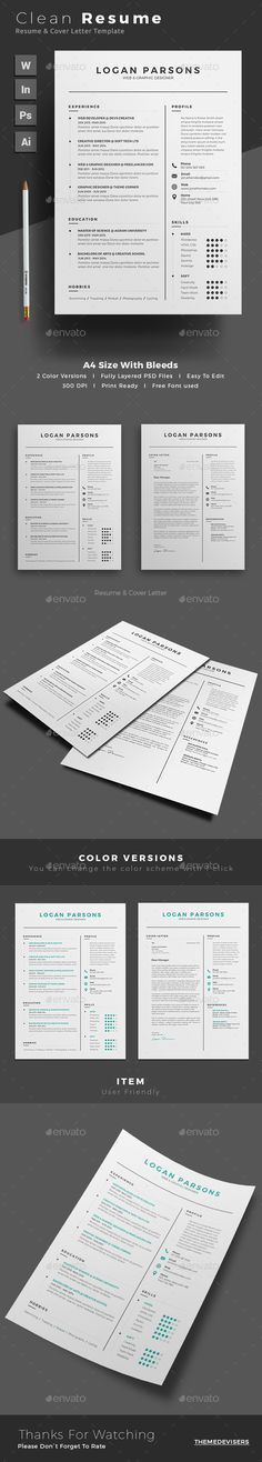 Job Resume Job resume, Cv template and Resume cv - Modern Resume Styles