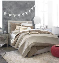 Bedroom furniture for a neutral color palette