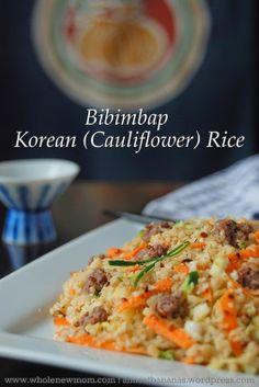 Adrienne Urban - Google+ - Wondering what's for dinner? How about this Korean Cauliflower Fried Rice..... #GlutenFree #DairyFree