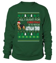 # AUSTRALIAN TERRIER Ugly Christmas Sweat .  HOW TO ORDER:1. Select the style and color you want: 2. Click Reserve it now3. Select size and quantity4. Enter shipping and billing information5. Done! Simple as that!TIPS: Buy 2 or more to save shipping cost!This is printable if you purchase only one piece. so dont worry, you will get yours.Guaranteed safe and secure checkout via:Paypal   VISA   MASTERCARD