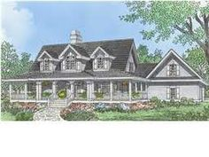 Love Cape Cod Style Homes With Wrap Around Porches Dream