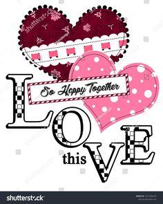 This Love Happy Together Girl Tshirt Stok İllüstrasyon 1221996520 Design Girl, Print Design, Fc 1, Paper Cut Design, Friends Wallpaper, Girl Boss Quotes, Happy Together, Watercolor Fashion, Cute Tshirts