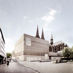 Staab Architekten has released its plans for the historic center of Cologne, which will include the research and administration buildings for the...